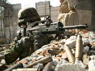 Squad machine gun